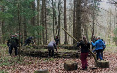 Firmenevent Wald